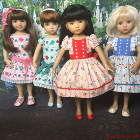Dianna Effner Little Darling doll friends, in Dolltown
