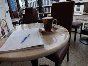 Im Café, in Bautzen