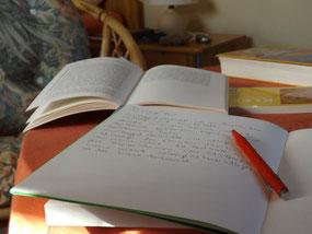 Schreiben im Miniurlaub
