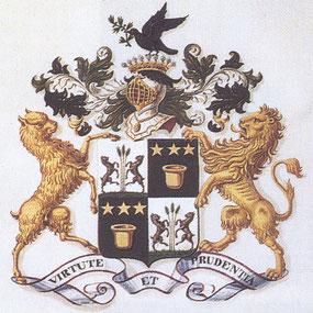Armoiries familiales d'Argenteuil d'après les patentes de 1836.