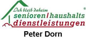 Senioren und Hasuhaltsdienstleistungen Peter Dorn