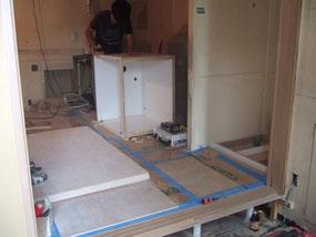 ミニキッチン設置工事の写真