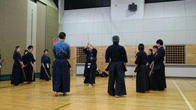 剣道形の稽古