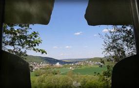 Christus-Silhouette, Bad Kissingen, Weg der Besinnung