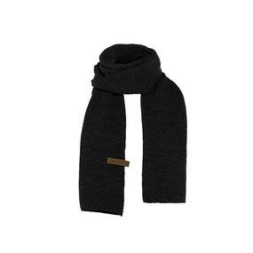 Zwarte sjaal Jazz, Knit Factory