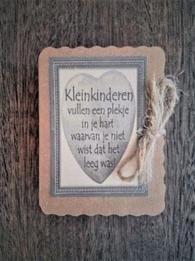 Kleinkinderen vullen een plekje in je hart, soap in a box, zeepje