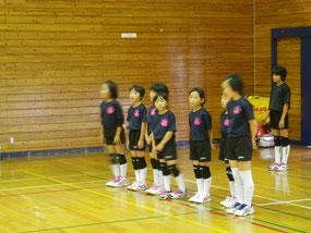 Bチーム練習試合・里山辺体育館