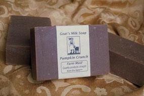 Pumpkin Crunch Goat Milk Soap