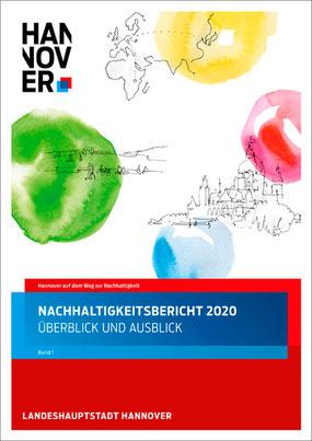 fundwort hat im Redaktionsteam für den Nachhaltigkeitsbericht der Landeshauptstadt Hannover mitgearbeitet