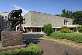 国立西洋美術館 常設展はゆっくり観れます!前庭にはロダンがいっぱい。