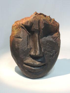 Kopf 260, Bronze, 2018, Höhe 23cm, 9 Exemplare