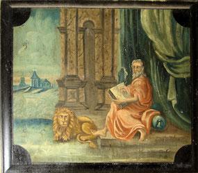Markus mit dem Löwen