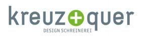Logo von Kreuz und Quer Design Schreinerei