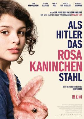Als Hitler das Rosa Kaninchen stahl Plakat