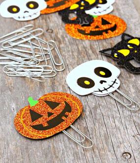 paperclip halloween - slakkenpost.nl