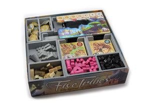 folded space insert organizer five tribes