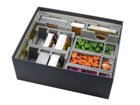 folded space insert organizer viticulture