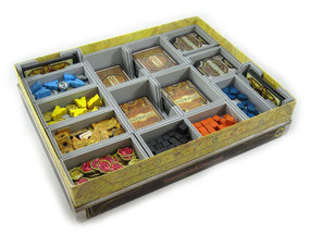 folded space insert organizer great western trail