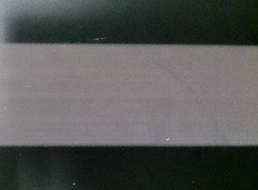 パルスYAGレーザ355nm, 1.2J/cm2でZAP-IT®にレーザアニール加工