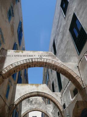 ET.Voilà Sprachferien mit Französischkurs in Essaouria - UNESCO Hafenstädtchen und Kite- / Surfspot in Marokko
