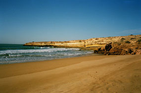 Marokko, Bucht nahe Sidi Kaouki