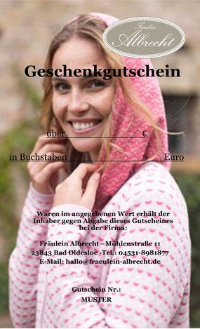 Gutschein Fräulein Albrecht