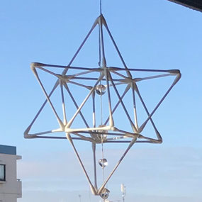 ベクトル平衡体(マカバ)(クリスタルは付きません)