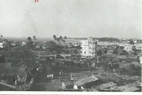 Mount Mary in Bandra - Außenbezirk von Bombay am Meer gelegen