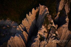 蓬莱山の夕暮れ 林 明輝