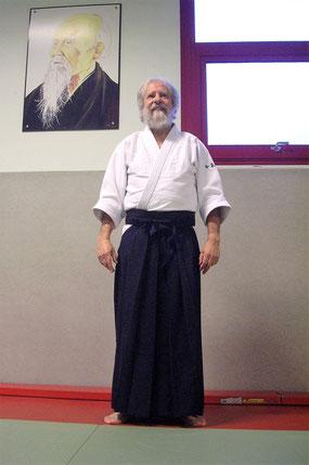 Alain DIOT. Kaïden de l'Ecole d'Aïkido de Sumikiri