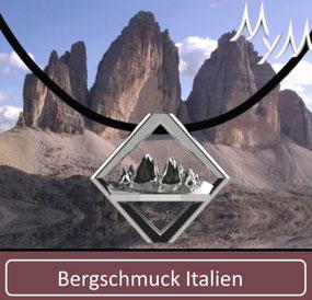 MYM Bergschmuck Kette Collier Italien Südtirol Bozen Dreizinnen Schlern Ortler Langkofel