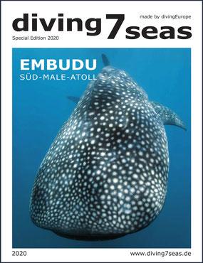 """Kostenloses Sonderheft """"Embudu"""" von diving7seas (klick aufs Bild führt zum Magazin – zurückkommen nicht vergessen!)"""