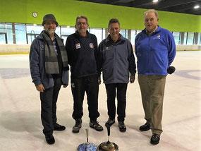 Dr. Horst Feindert, Wilfried Madlmayr, Gerhard Nöbauer und Manfred Hamberger