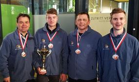 Markus Reiter, Rene Reitermayr, Peter Hager und Lukas Reiter