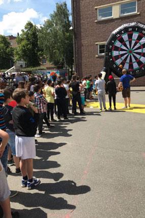 Sommerfest Schule auf der Vedddel