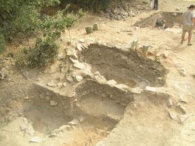 Hornos metalúrgicos excavados en 2011
