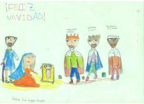 Dibujo realizado por Daniela Rojas Torralba