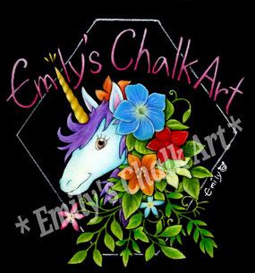 Emily's Chalk Art