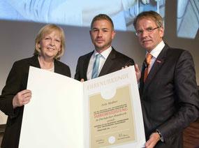 Hannelore Kraft, Felix Meißner und Andreas Ehlert