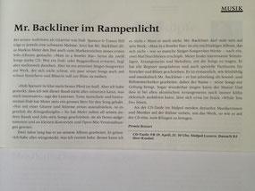 Aus dem Kulturmagazin 4. April 2013