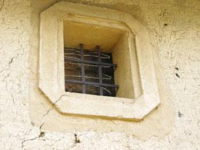 職人の粋な計らい土蔵壁