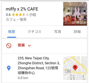 miffy × 2% CAFE 中和