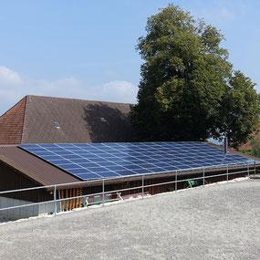 Soltermann Solar GmbH Fraubrunnen - Linkfoto Anlagebeispiele Landwirtschaft