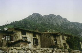 Bild: das Dorf Montségur