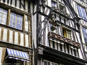 Bild: Rouen, Normandie