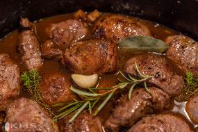 Bild: Rezept Joue de porc au vin rouge