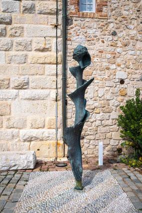 Bild: Die große Spirale von Germaine Richier im Musée Picasso in Antibes