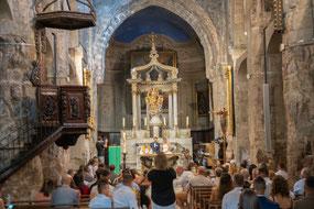Bild: Grasse im Innern der Cathédrale Notre-Dame-du-Puy im Département Alpes Maritimes
