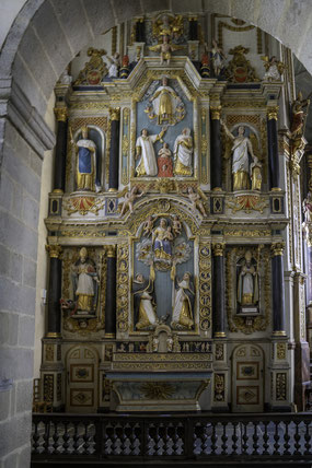 Bild: Retable Rosaire in Saint-Thégonnec
