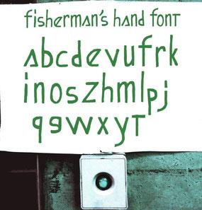 fisherman's hand font